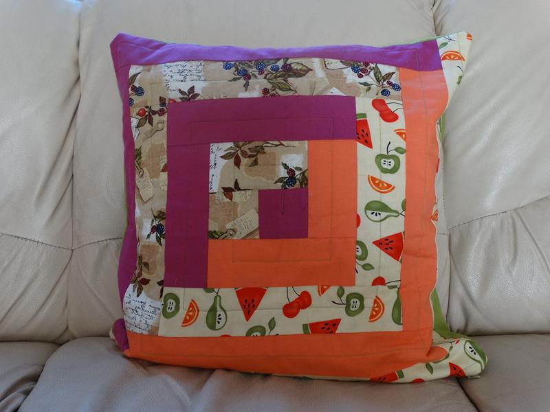 Log Cabin Cushion Covers